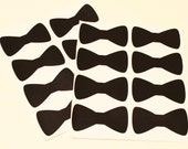 Chalkboard Labels, 12 Bow Tie Chalkboard Labels, Mason Jar, Wedding Favors, Little Man,  Baby Shower, Girls, Party, Tag, Party Table Markers