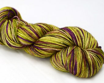 Hand dyed sock yarn - Silk and Merino - 100g