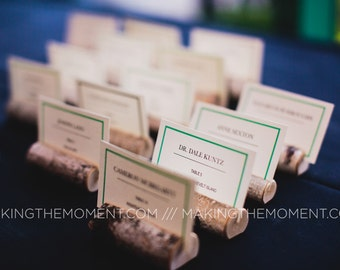 90 Rustic Wedding Place Card Holders