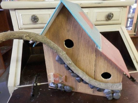Whimsical Bird House by tonyripley on Etsy