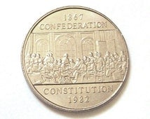 1982 Canadian Dollar Founders of Confederation