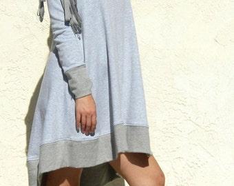 ArtAffect SWEATSHIRT DRESS-Gray