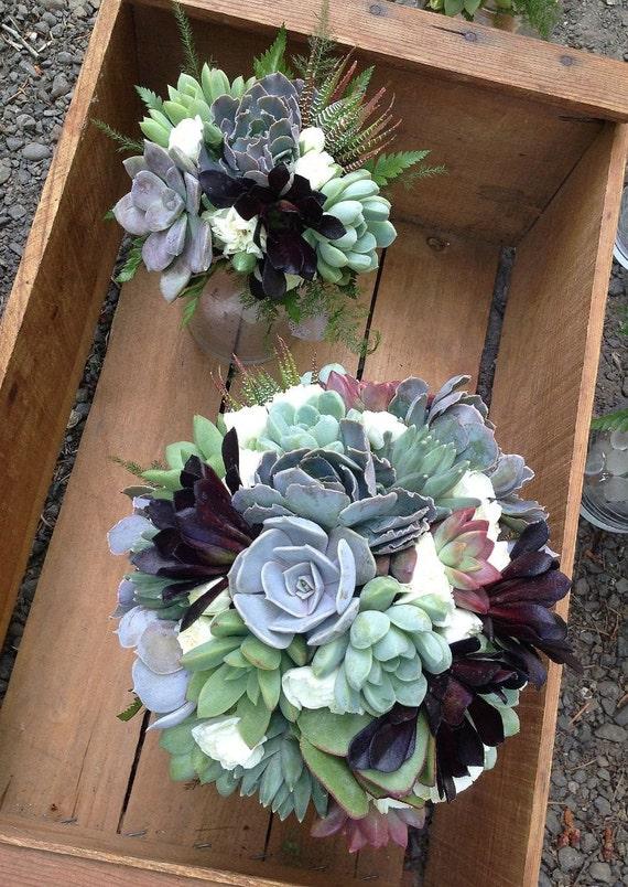 succulent wedding flowers. Black Bedroom Furniture Sets. Home Design Ideas