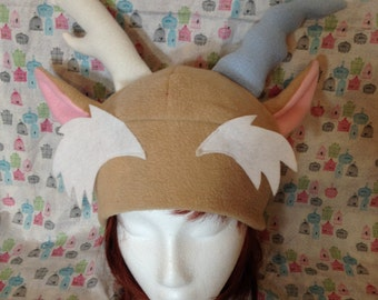 Discord from My Little Pony: Friendship is Magic Inspired Fleece Hat Handmade