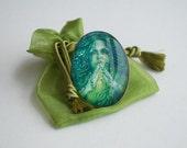 Mermaid Ring - Reiki Love Healing Mermaid - Mermaid Charm