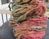 Rose Garden HandSpun and Hand Dyed Yarn