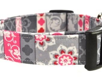 Floral Dog Collar - The Lotus