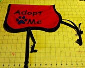 Adopt Me Dog Vest Buckle Style Handmade
