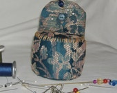 pin cushion small chair handmade my own design one of a kind for seantress mom collectable