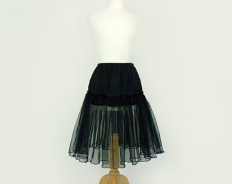 Simple Black Petticoat / Crinoline /  Tutu/