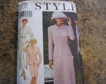 Misses Suit Pattern  Style 2700
