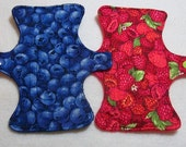 Berries--7 inch-Cloth Pad Set