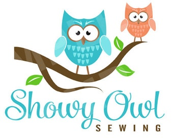 Shop Banner - Premade, Logo Design, - Includes, Owls & Branch Includes Banners, Avatar, and more...owl logo