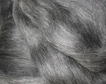 Shades of Gray Gotland Spinning & Weaving Fiber Great for Felting too! 4 Oz