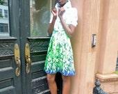 Summer SALE SALE 30% OFF Vintage Floral Dress-1970s