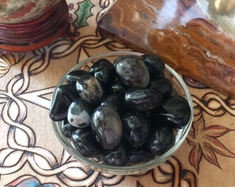 Black Onyx Stone Hecate Stone