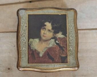 vintage florentine gilt jewelry box by enesco