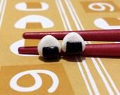 Onigiri Rice Ball - Miniature Food Jewelry - Anime Cosplay Accessories