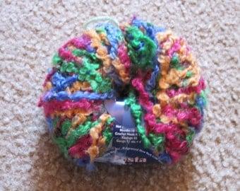 N.Y. Yarns Fiesta Yarn ID No. 38070 Color No. 3 DISCONTINUED
