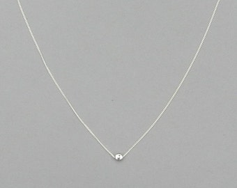 Initial J Bead Necklace