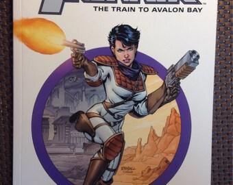 Ron Randall's Trekker: Return to Avalon Bay graphic novel. Signed.