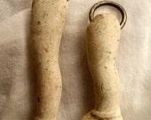 Unique Handmade Authentic Vintage Frozen Charlotte Doll Two Leg Charms or Pendants