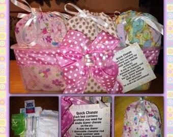 Grab-n-go diaper change packs!