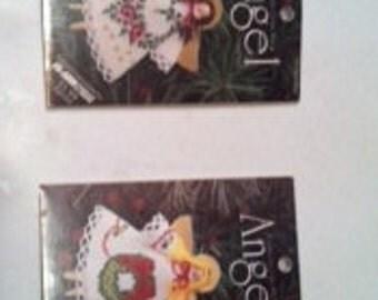 Cross-Stitch Angel Ornament Kit