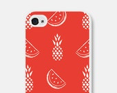 iPhone 6 Case Pineapple - Watermelon iPhone 5c Case - Pineapple iPhone 5c Case - Watermelon iPhone 5 Case - Pineapple Samsung Galaxy S4