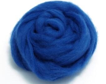 10g Super Fast felting Short Fiber Wool Perfect in Needle Felt and Wet Felt Blue V311