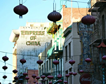 Beautiful Culture Magnified, 8x12 Print,Chinatown Photo,SF Chinatown Image,Coloful Image,San Francisco Photography,Urban Photo