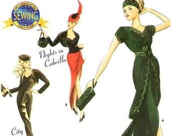 Simplicity 0683/9317 Couturier Doll Clothes for 15 1/2 Inch Dolls - City Spree/Delmonicos/Nights in Cabrillo