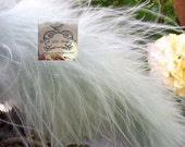 Cotton Candy Blue Marabou Boa Feathers