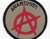 Anarchist Geek Merit Badge Patch