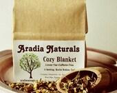 Cozy Blanket - Specialty Herbal Bedtime Sleepy Tea Blend - Delicious Natural Ingredients