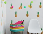 Vinyl Wall Sticker Decal Art - Pineapples
