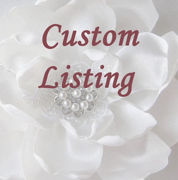 Custom Listing for Erin