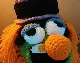 Crochet Dr Teeth Hat