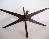 Mid Century oval coffee table base