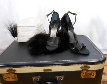 Womens Shoes Vintage Shoes Fendi Stiletto Heels Haute Couture Womens Dress Shoes Designer Shoes