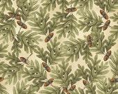 Postcards from the Lodge Acorns - Windham Fabrics - Fat Quarter