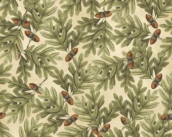 Postcards from the Lodge Acorns - Windham Fabrics - Half Yard