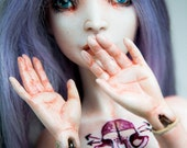 "Porcelain ball jointed doll ""Levanda"""