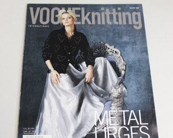 Vogue Knitting Magazine Back Issue - Holiday 2004