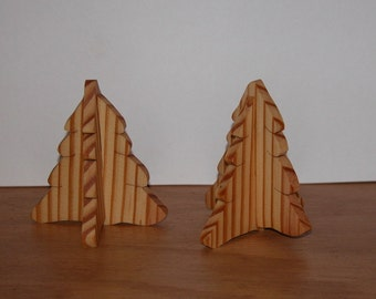 Pine Trees - Holiday Home Decor - Collapse for Storage