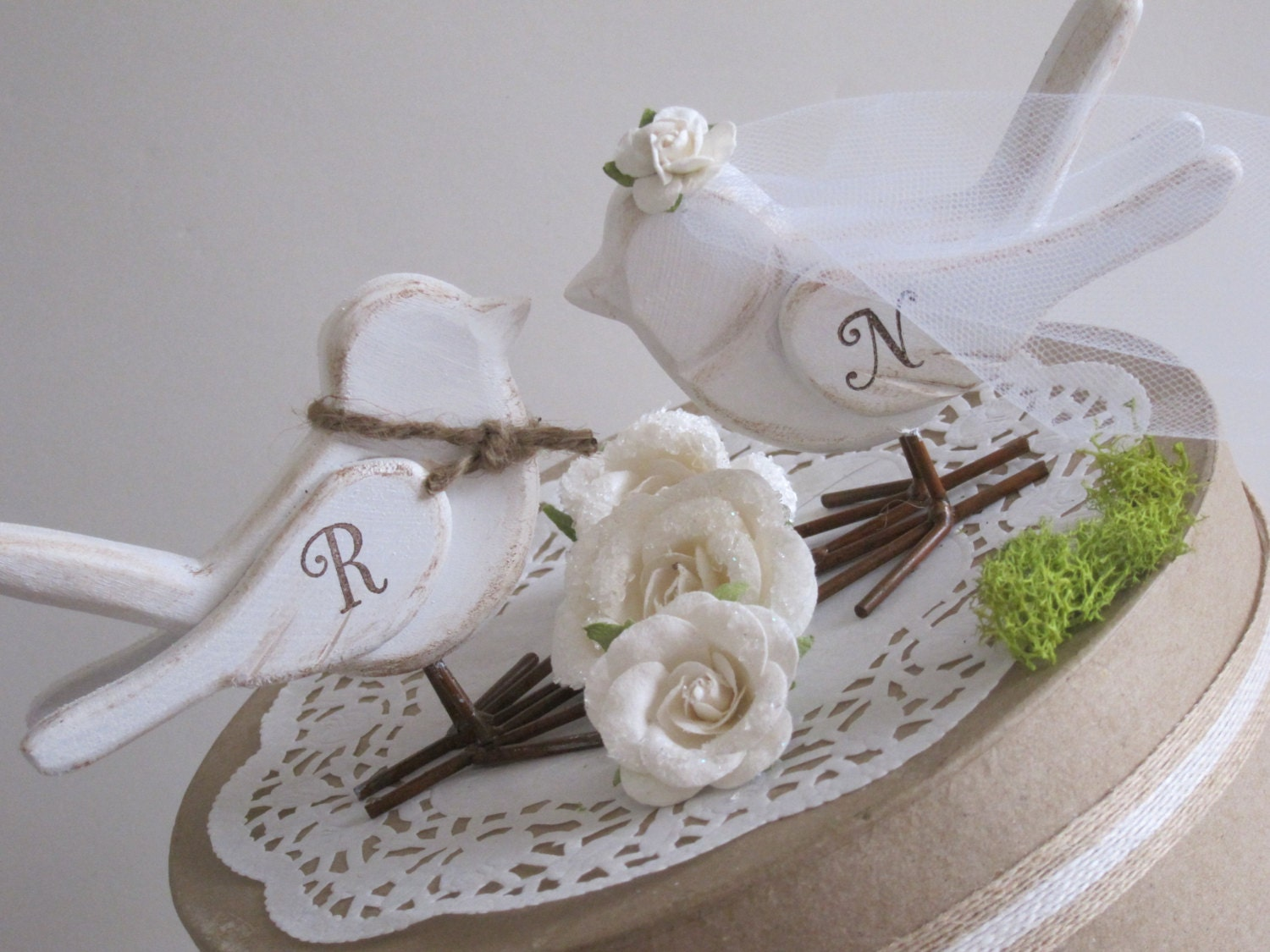 love bird wedding cake topper birds cake topper cake topper wedding cake topper 5607
