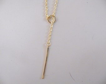 50% off this item, enter LOVE99 at checkout, Gold Lariat, Lariat, Necklace,Circle Necklace, Valentine's Day Necklace, Gift
