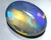 Welo Opal Cabochon 8x6 Oval Solid Ethiopian Rainbow Pinfire Flash Fire Confetti Jelly Perfect for Stacking Stackable Rings Ring ONE Cab