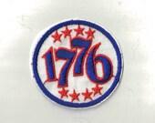 1776 -  1970's Vintage Sewing patch Applique