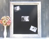 FRENCH COUNTRY DECOR French Country Kitchen- Standing Chalkboard Table Top - Vintage Wedding Decor Decorations Magnet Board